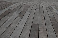 Piattaforma di legno Fotografie Stock