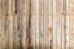Piattaforma di legno usata fotografia stock