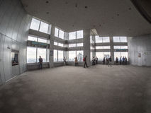 Piattaforma di osservazione alla costruzione metropolitana di governo di Tokyo Immagine Stock