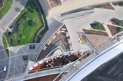 Piattaforma di osservazione Burj Khalifa Fotografia Stock