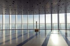 Piattaforma di osservazione della torre di Shanghai Immagine Stock Libera da Diritti