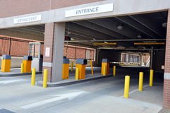 Piattaforma di parcheggio Fotografie Stock