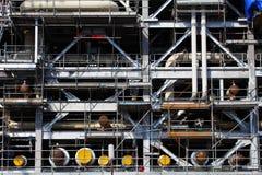 Piattaforma di perforazione in costruzione Immagini Stock Libere da Diritti
