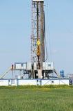 Piattaforma di produzione del petrolio marino Fotografia Stock Libera da Diritti