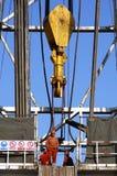 Piattaforma di produzione dello sbarco Immagine Stock Libera da Diritti