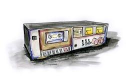 Piattaforma di vassoio illustrazione di stock