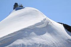 Piattaforma ed osservatorio svizzeri di osservazione lo Sphinx Fotografia Stock