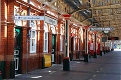 Piattaforma ferroviaria, Nottingham immagine stock