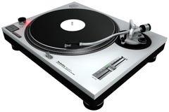 Piattaforma girevole 1 del DJ Fotografie Stock Libere da Diritti