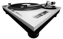 Piattaforma girevole 2 del DJ Fotografia Stock