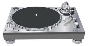 Piattaforma girevole del DJ Illustrazione di Stock