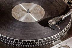Piattaforma girevole di gioco record Grungy alta vicina di estremo Immagine Stock Libera da Diritti