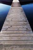 Piattaforma nel Mar Baltico Fotografia Stock