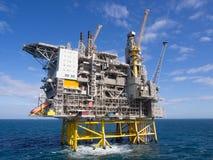 Piattaforma offshore Fotografia Stock Libera da Diritti