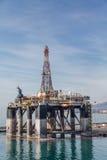 Piattaforma petrolifera di Malaga Spagna Immagine Stock Libera da Diritti