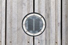 Piattaforma rotonda solare LED Immagine Stock