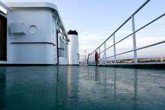 Piattaforma superiore del traghetto Fotografia Stock Libera da Diritti