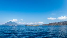 Piattaforme tradizionali di pesca immagini stock libere da diritti