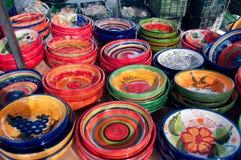 Piatti ceramici Fotografia Stock Libera da Diritti