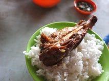 a piatti controllati a Malesia della carne Immagini Stock