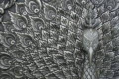 Piatti d'argento scolpiti Fotografie Stock Libere da Diritti