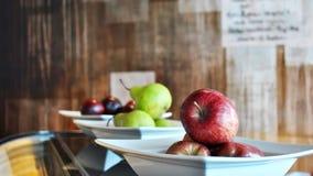 Piatti dei frutti Fotografia Stock Libera da Diritti