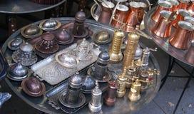 Piatti del metallo Fotografie Stock Libere da Diritti