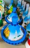 Piatti del tajin del ricordo del Marocco piccoli Fotografia Stock Libera da Diritti