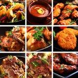 Piatti della carne Fotografia Stock