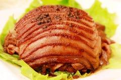 Piatti della carne del pepe Fotografie Stock