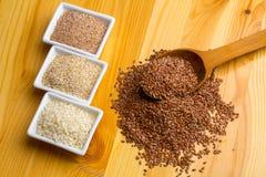 Piatti delle sabbie del grano Fotografia Stock Libera da Diritti
