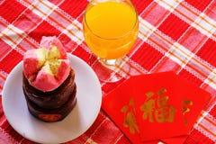 Piatti dello speciale di Nian Gao Chinese New Year Fotografie Stock Libere da Diritti