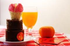 Piatti dello speciale di Nian Gao Chinese New Year Fotografia Stock