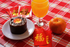 Piatti dello speciale di Nian Gao Chinese New Year Immagini Stock
