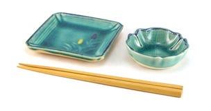 Piatti vuoti dei sushi. Fotografia Stock Libera da Diritti
