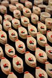 Piattini di ceramica Fotografia Stock Libera da Diritti