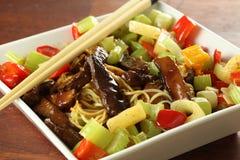 Piatto appetitoso Fotografie Stock