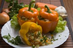 Piatto bulgaro di cucina Immagine Stock Libera da Diritti
