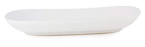 Piatto ceramico isolato su un fondo bianco Fotografia Stock Libera da Diritti
