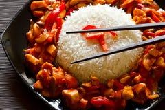 Piatto cinese Fotografie Stock Libere da Diritti