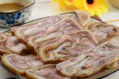 Piatto cinese Fotografia Stock