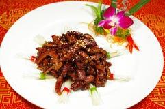 Piatto cinese Fotografia Stock Libera da Diritti