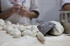 Piatto cinese - Baozi Fotografia Stock