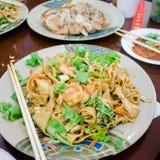 Piatto cinese della pasta immagini stock libere da diritti
