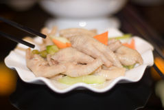 Zampone del maiale e pisello giallo fotografia stock for Piatto cinese
