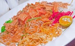 Piatto cinese di Yusheng di nuovo anno Immagine Stock