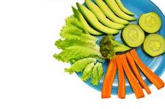Piatto con le verdure Immagine Stock