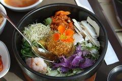 Piatto coreano Fotografie Stock