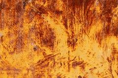 Piatto corroso arrugginito fotografie stock libere da diritti