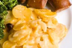Piatto cucinato casa Immagine Stock